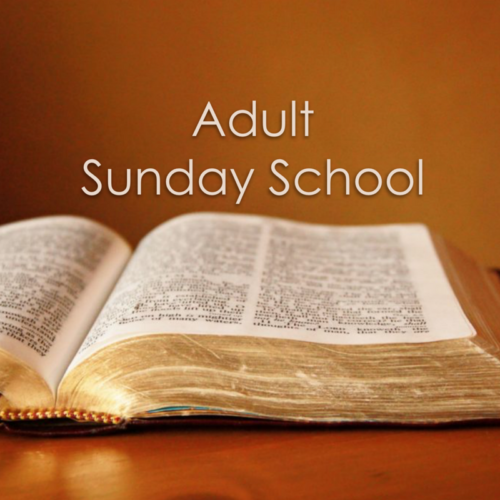Sunday's Adult Christian Formation Classes