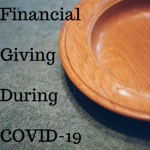 Financial Giving During COVID-19
