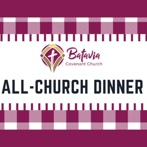 All Church Dinner